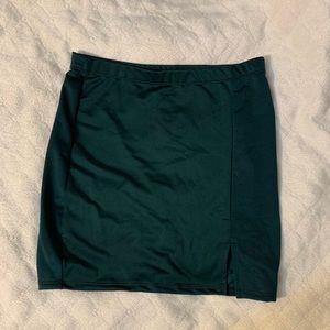 Dresses & Skirts - EMERALD GREEN SKIRT